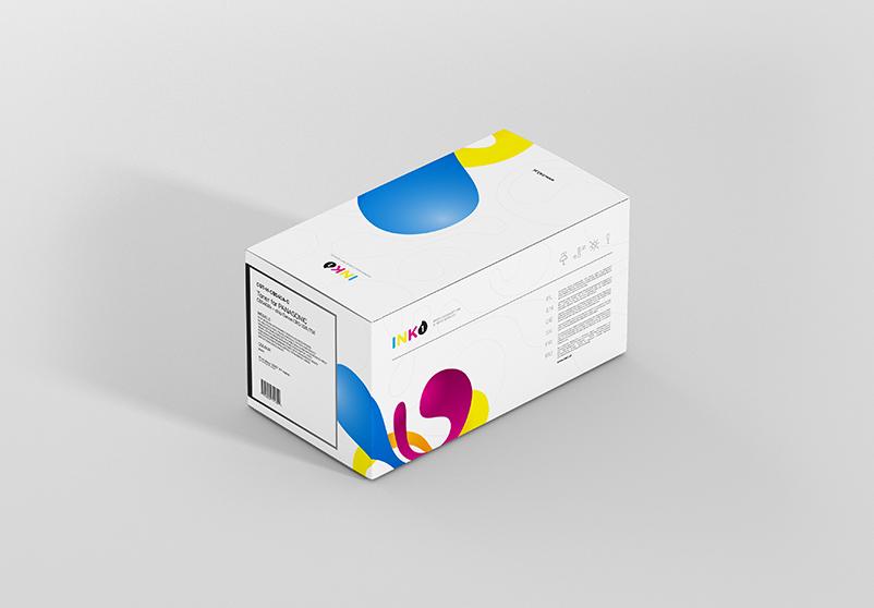Projekt pudełka produktu ink1