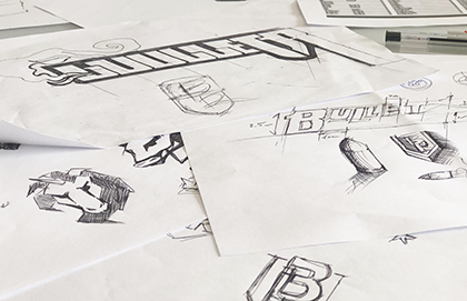 Tworzenie logotypów szkic